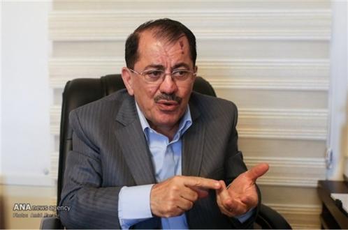 ناظم دباغ در گفتگو با مهر:برهم صالح برای حفظ وحدت و یکپارچگی عراق سوگند خورده است