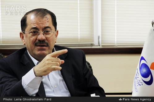 ناظم دباغ: تلاش برای حل مشکلات تهران- واشنگتن یکی از محورهای دیدارهای ظریف در اربیل است