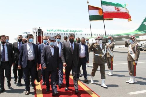 «نیچیروان بارزانی» رئیس اقلیم کردستان وارد تهران شد